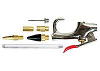 Набор продувочный пистолет, пневмат. в комплекте с насадками, 6 шт. MATRIX