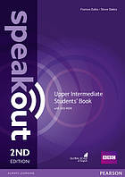 Учебник Speakout 2nd Upper-Intermediate SB+DVD