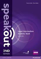 Учебник Speakout 2nd Upper-Intermediate SB+DVD