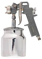 Краскораспылитель (краскопульт) пневмат. с нижним бачком V=0,75 л + сопла 1.2, 1.5 и 1.8 мм MATRIX