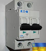 Автоматический выключатель Eaton-Moeller PL4-C 2P 25A