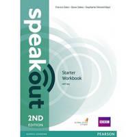 Рабочая тетрадь Speakout 2nd Starter WB+key