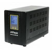 ИБП EnerGenie EG-HI-PS1000-01 1000VA, 2xSchuko, длительного действия (инвертор) под внешний АКБ
