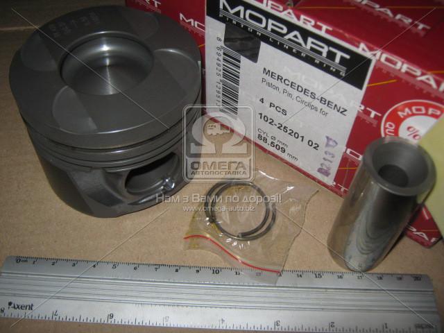 Поршень двигателя MERCEDES SPRINTER VITO (Мерседес Спринтер Вито) 88,50 OM611 / 612 / 613 (пр-во Mopart)