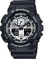 Мужские часы Casio G-SHOCK GA-100BW-1AER