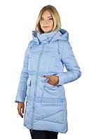 Женское пальто на холлофайбере ENYI 2