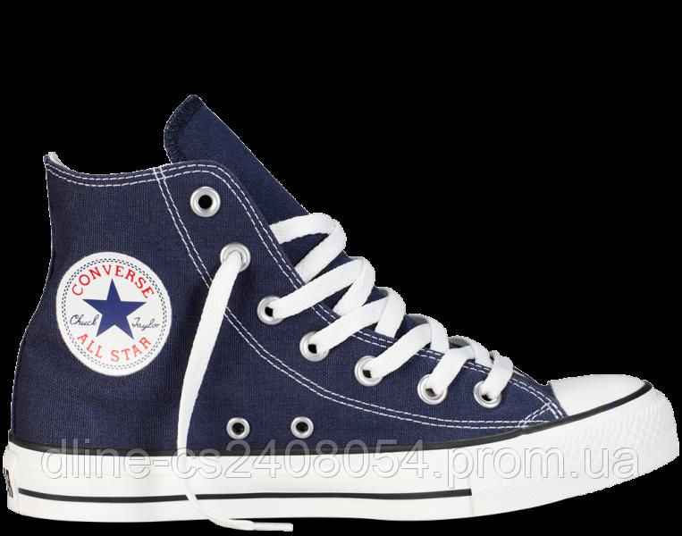 Кеды Converse All Star Hi Тёмно Синие
