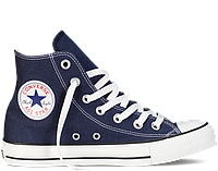 Кеды Converse All Star Hi Тёмно Синие