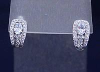 Серьги серебро 925 пробы АРТ2114, фото 1