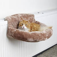 Мягкое место подвесное для кота (плюш) 46х11х33см коричневый