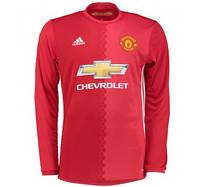 Футбольная форма Манчестер Юнайтед с длинным рукавом, новый сезон 16/17 , фото 1