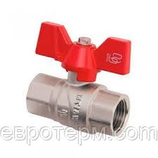 Кран шаровый SD Forte 1'' БГГ вода
