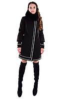 Свободное женское зимнее пальто арт. Паркер зима песец 4681