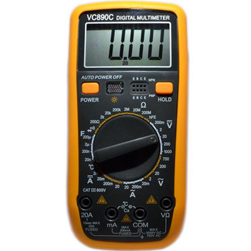 Тестер цифровой Мультиметр VC-890C, фото 1