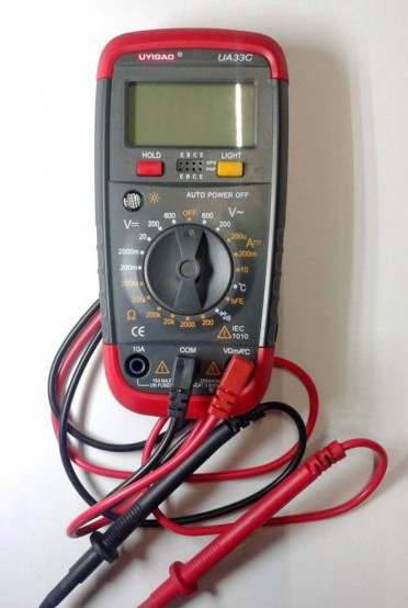 Мультиметр тестер цифровой UA33С