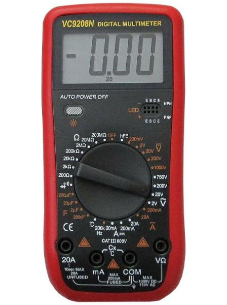 Цифровой мультиметр VC-9208N, фото 1