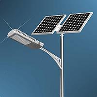 Система автономного уличного освещения на фотомодулях (батареях)