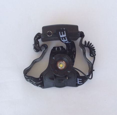 Аккумуляторный Налобный фонарик Police LL-822-T6, Диод CREE-T6, 2 акб.