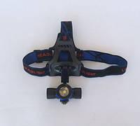 Фонарь светодиодный с креплением на руль BL-588 со сменными светофильтрами, фото 1