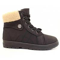 Зимние женские ботинки, сапоги 36-39 маломерят