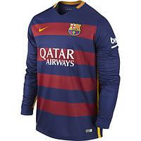 Футбольная форма Барселоны с длинным рукавом, сезон 2015-2016
