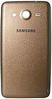 Задняя крышка корпуса Samsung G355H Galaxy Core 2 Duos Gold