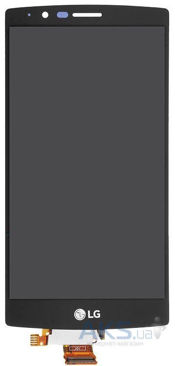 Дисплей (экран) для телефона LG G4 F500, G4 H810, G4 H811, G4 H815, G4 H818N, G4 H818P, G4 LS991, G4 VS986 + Touchscreen Original Black