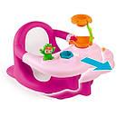 Стульчик для купания Smoby розовый Роса с игровой панелью Cotoons Badesitz Rosa 110605, фото 2