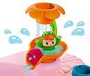 Стульчик для купания Smoby розовый Роса с игровой панелью Cotoons Badesitz Rosa 110605, фото 4