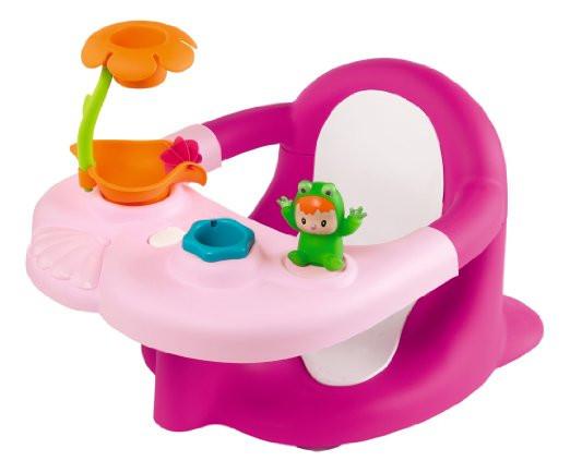 Стульчик для купания розовый Роса с игровой панелью Smoby Cotoons Badesitz Rosa 110605