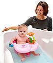 Стульчик для купания Smoby розовый Роса с игровой панелью Cotoons Badesitz Rosa 110605, фото 3