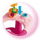 Стульчик для купания Smoby розовый Роса с игровой панелью Cotoons Badesitz Rosa 110605, фото 5