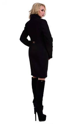 Женское зимнее пальто с хомутом арт. Луара лайт Турция элит зима хомут 4619, фото 2