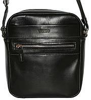 Кожаная мужская сумочка Mk46 черная