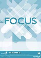 Рабочая тетрадь Focus 4 Workbook