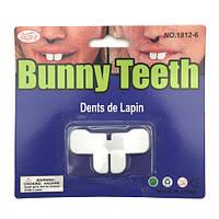 Зубы кролика карнавальные
