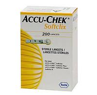 Стерильные ланцеты Акку-Чек Актив Софткликс 200 шт.
