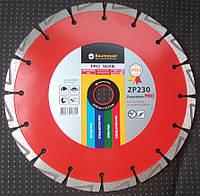 Алмазный диск для резки бетона, Baumesser Ziegelstein pro  230x2,6/1,8x12x22,23-(16)
