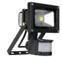 Прожектор светодиодный 10W + датчик движения