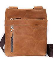 Кожаная мужская сумочка Mk13 бежевая