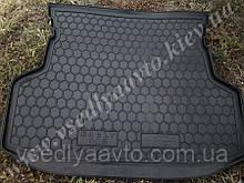 Коврик в багажник Geely GC6 (Автогум) пластик+резина