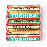 Батарейка Toshiba AA пальчик r 6 солевая уп 40 шт