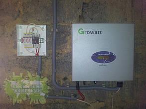 Подключение сетевого инвертора Growatt и автоматики