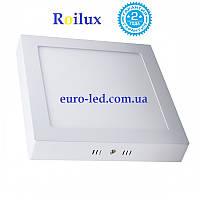 Led светильник 12W квадрат накладной Roilux