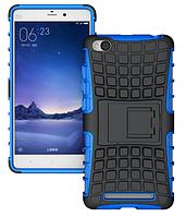 Противоударный бампер для Xiaomi redmi 3 (синий)