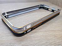 Бампер металлический с гравировкой для iPhone 6/6s
