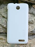 Чехол Nillkin Frosted для Lenovo A526 белый (+пленка)