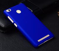 Бампер, чехол прототип фирмы NILLKIN для XIAOMI REDMI 3S / 3 PRO (синий)