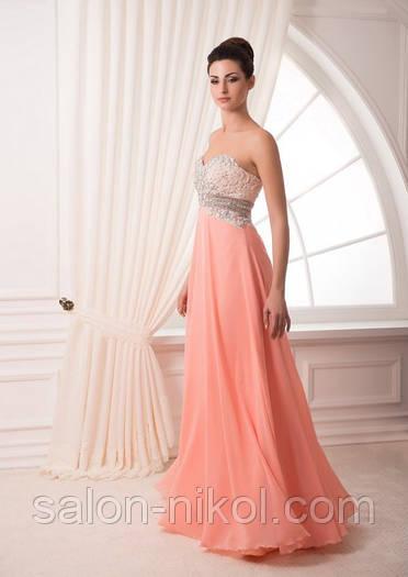 Вечернее, выпускное платье V-035