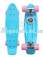 Скейтборд/скейт Penny Board (Пенни борд) Fishskateboards: 12 цветов, до 80кг